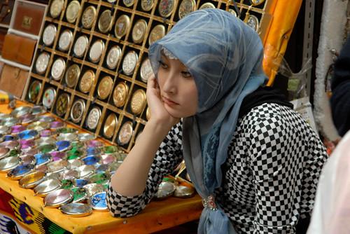 Chinese muslim girl