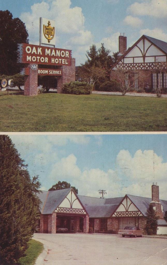 Oak Manor Motor Hotel - Baton Rouge, Louisiana