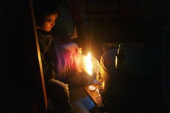 Lighting a stove in a Mongolian Ger | by East Asia & Pacific on the rise - Blog