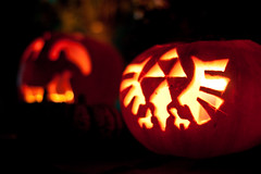 Triforce Eagle Pumpkin | by Visions of Domino