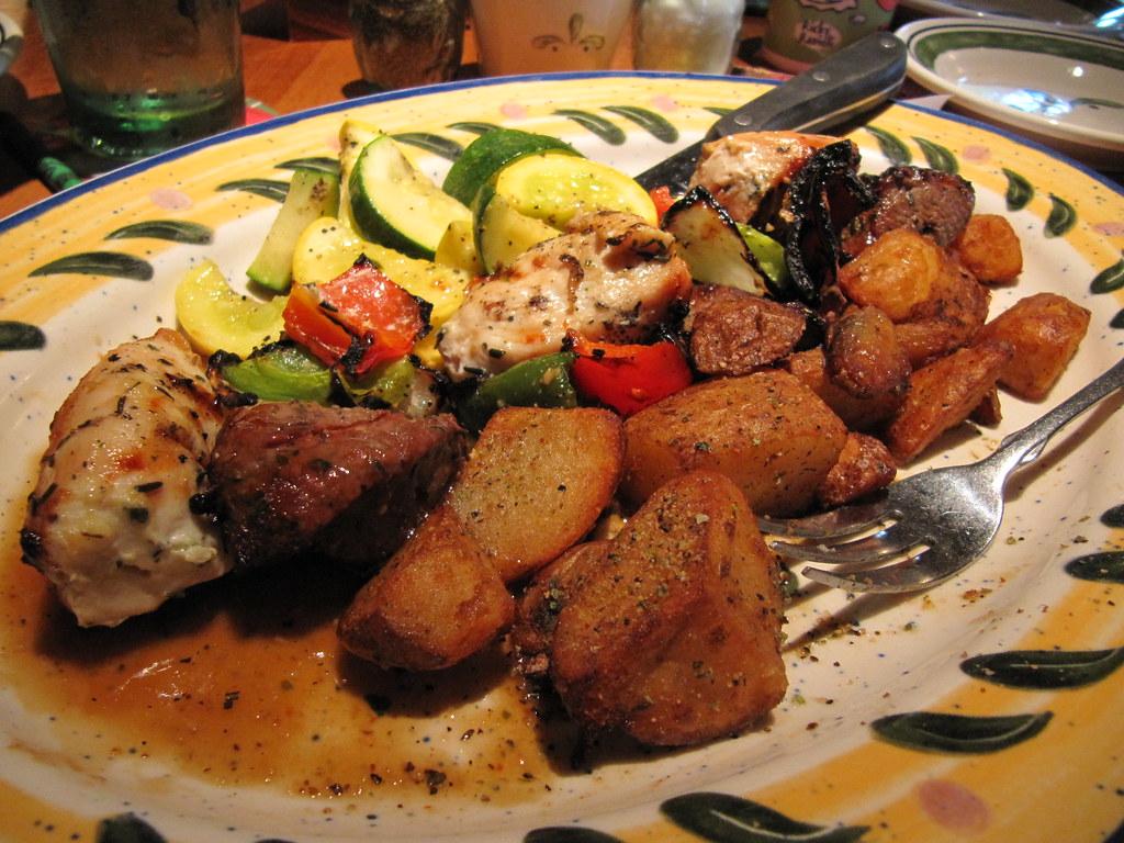 Olive Garden Gluten Free Menu: Mixed Grill Platter | Flickr