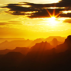 Grand Canyon Sunset Haze | by Jeff Dyck
