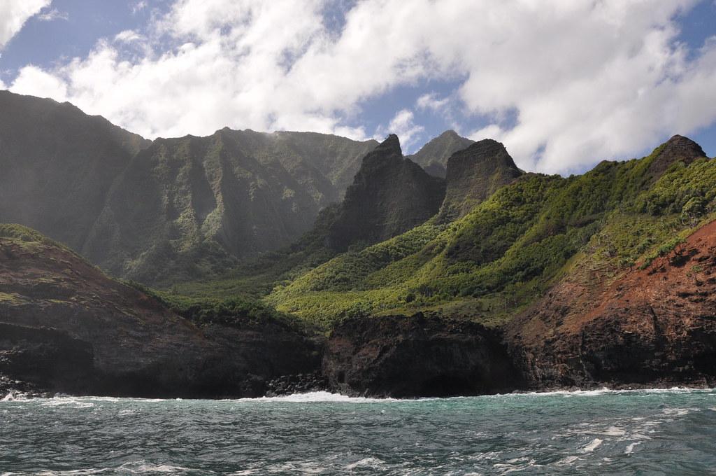 Na Pali Coast Boat Tour Justine Ezarik Flickr