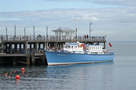 Western Lady at Swanage Pier | by karllamb2000