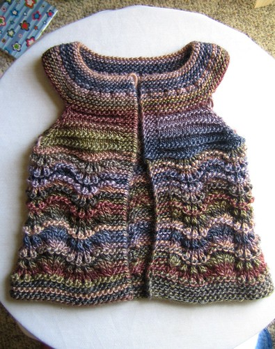 SMSS Pinny | by Little Bear Knitwear