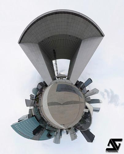 la grande arche de la d u00e9fense    mini planet