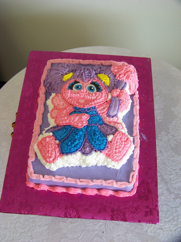 Abby Cadabby Birthday Cake Tc27jkw Flickr