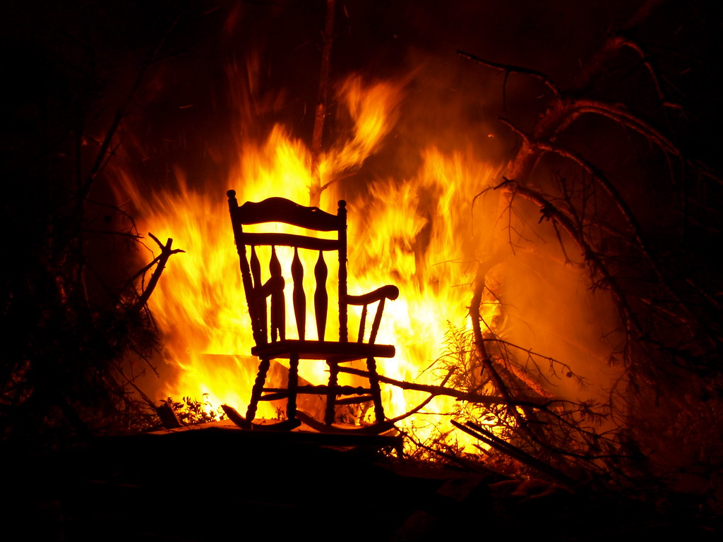 Ordinaire ... Chair On Fire | By Tim.perdue