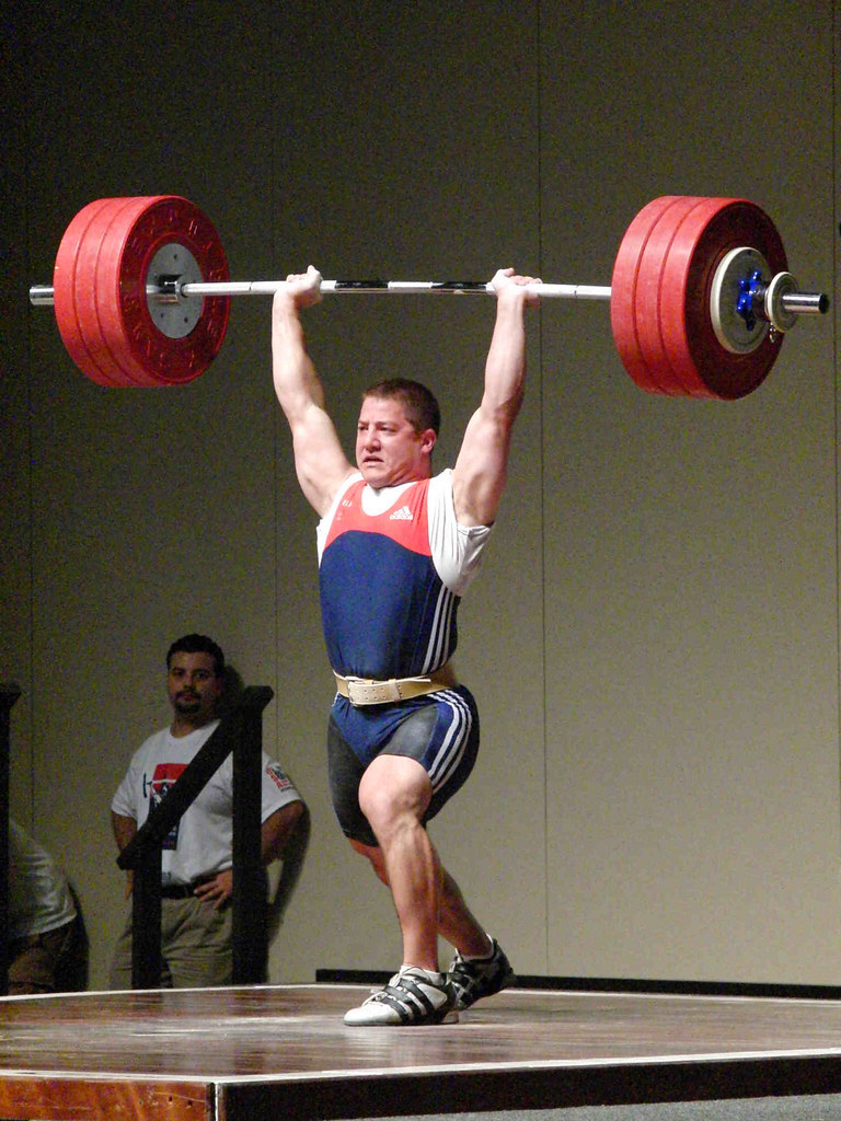 Matt Bruce 186 kg clean & jerk (2009)