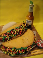 tacos cake | by debbiedoescakes