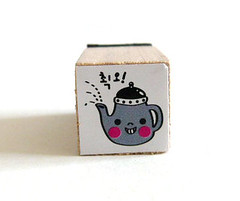 Cute Tea Pot Rubber Stamp | by ♥ Rainbowcatz ♥