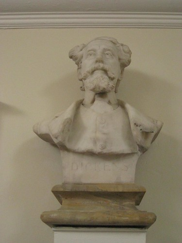 Charles Dickens bust at Mary Ward House | by Matt From London