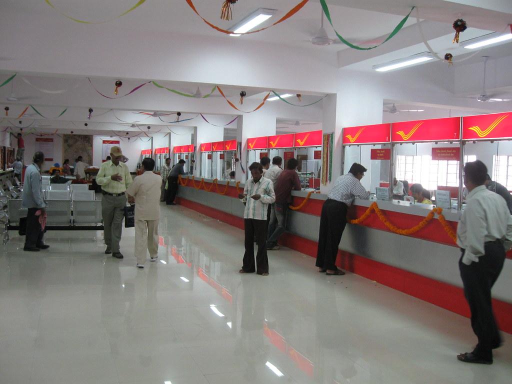 ... Rajkot Head Post Office Counters | By Sarangib