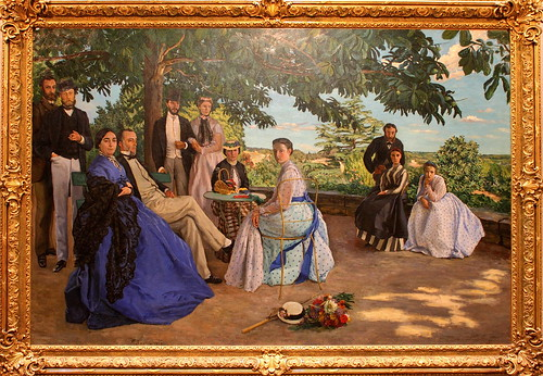 fr d ric bazille r union de famille en 1867 homepage ww flickr. Black Bedroom Furniture Sets. Home Design Ideas