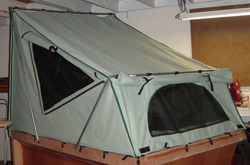Diy Roof Top Tent Plans Amp View Larger Roof Top
