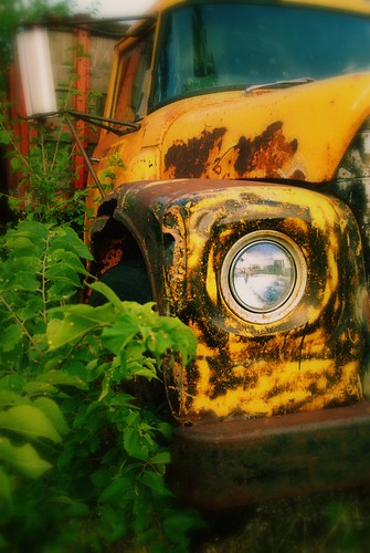 yellow truck 2 | by buckshot.jones