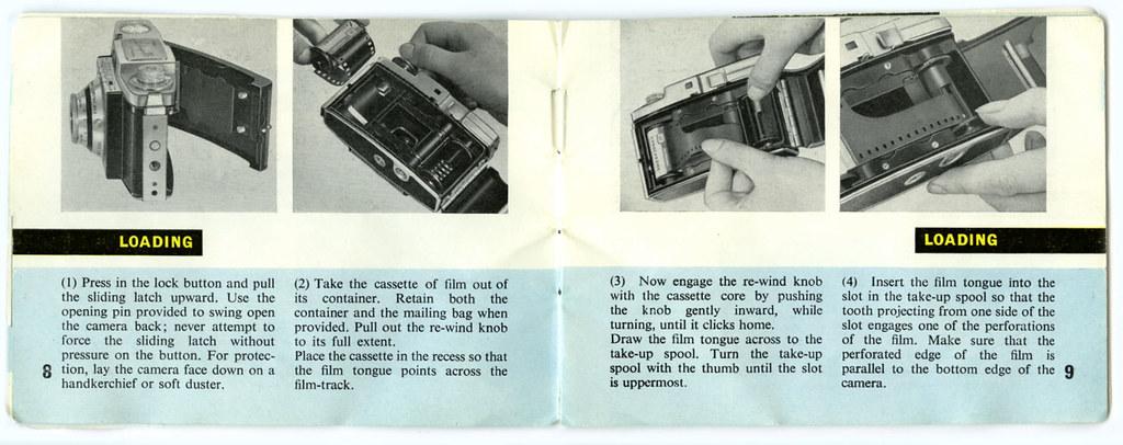 colorsnap 35 instruction booklet flickr rh flickr com Kodak 35 Camera Manual Vintage Kodak 35 Camera