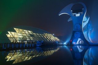 Falkirk Wheel at Night 4 | by bermrunner