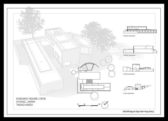 koshino house tadao ando – Koshino House Floor Plan