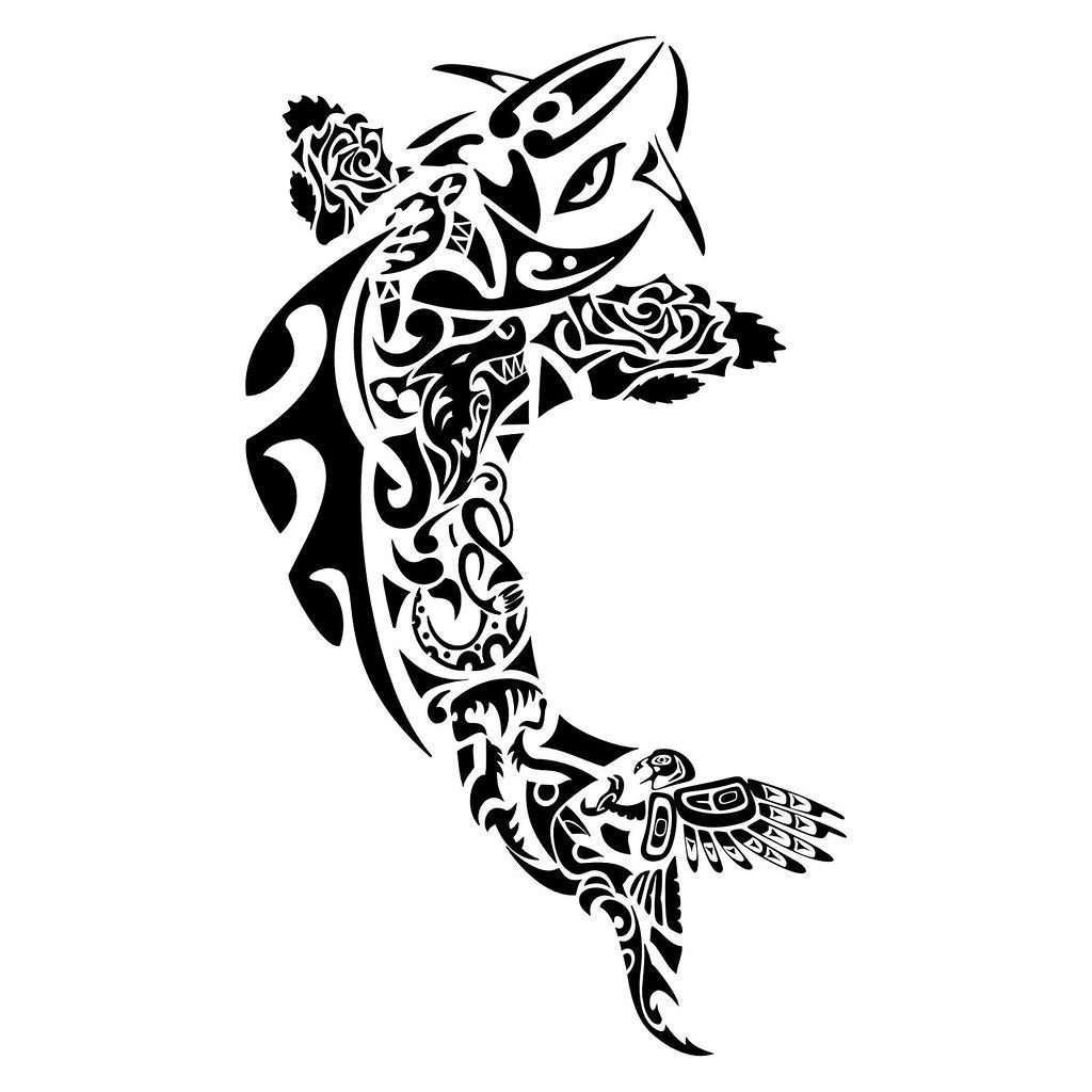 tattoo maori carpa peixe kirituhi Tatuagem Polinsia Mao Flickr