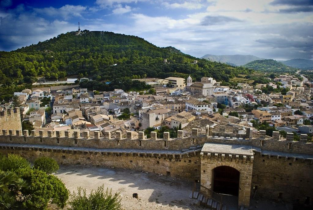 View over Capdepera, Mallorca