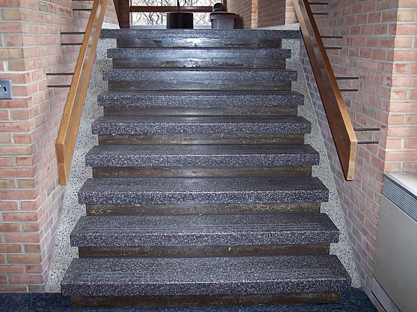 ... Shaw Theatre Terrazzo Stairs | By Central Tile U0026 Terrazzo