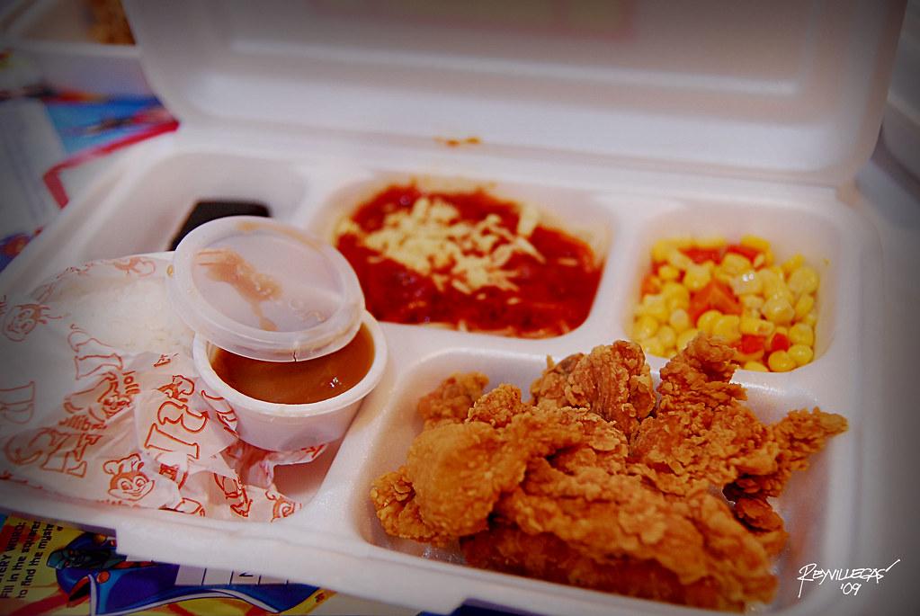 Jollibee Meal Jollibee Is A Fast Food Restaurant Chain Bas Flickr