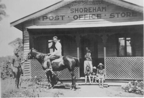 835 Hitchcock's Post Office Store | by Mornington Peninsula Local History