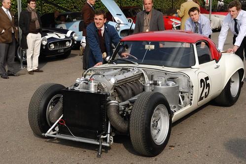 E-Type Jaguar, race winner | A Jaguar E-Type, owned by ...