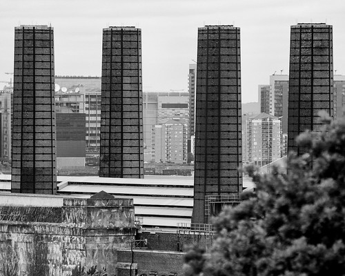 Greenwich Power Station chimneys | by neilclasper