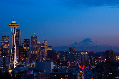 Seattle Postcard Dusk | by rkazda