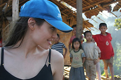 UNHCR News Story: Angelina Jolie voices support for Myanmar refugees in northern Thailand camps | by UNHCR