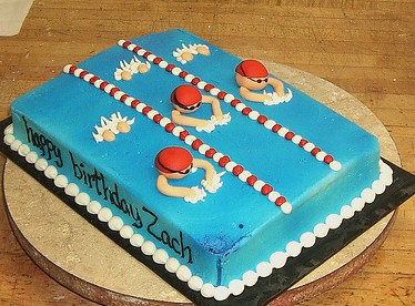 Images Swimming Pool Cake