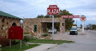 Petrified Wood Gas Station in Decatur, TX | by maorlando - God keeps me as I lean on Him!!