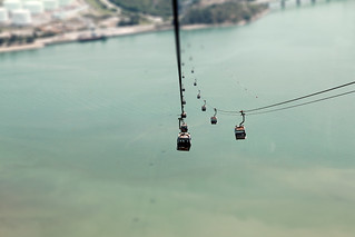 view from cable car | by neneee