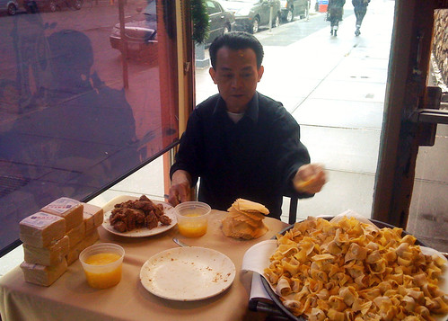 """The wonton maker"""" 