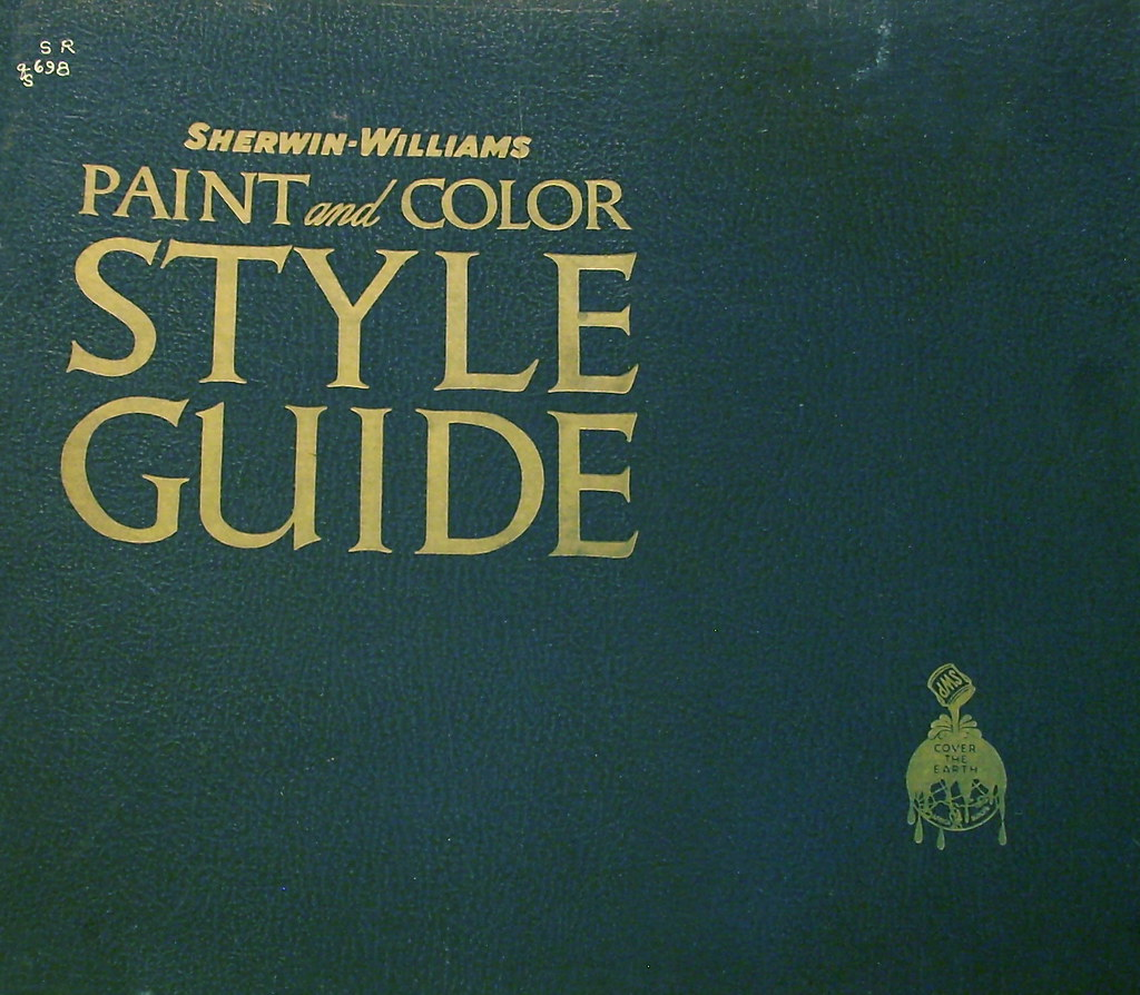 Sherwin Williams Paint and Color Style Guide 1941 | Flickr