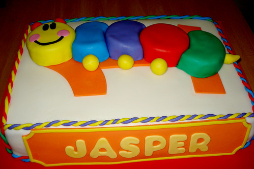 Baby Einstein Cake | by Cuppie Cakes (Moved to FL, back in the game now)