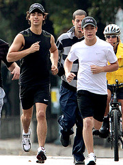 Nick and Joe Jonas Running in the CIBC Run for the Cure | by i <3 nick jonas!!!