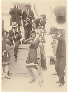 The Colored Idea Band of Sonny Clay arrives in Sydney, 1928 / Sam Hood | by State Library of New South Wales collection