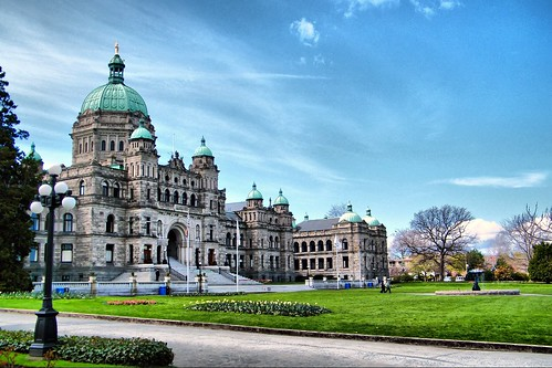 B.C Legislature in HDR | by Brandon Godfrey