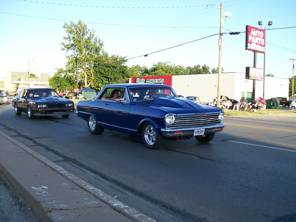 All Chevy 64 chevy ii : 64 Chevy II Nova and '87 Monte Carlo SS | mark_potter_2000 | Flickr