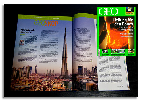 GEO Magazine, German edition, October issue | by DanielKHC