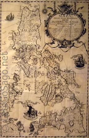 Murillo Velarde Philippine Maps 1734 Www Letsgosago Net