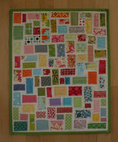 tiny ticker tape | by crazymomquilts