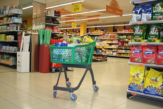 Plastic shopping cart | by Polycart