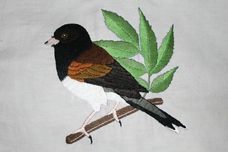 Embroidered Junco | by ruffledfeather