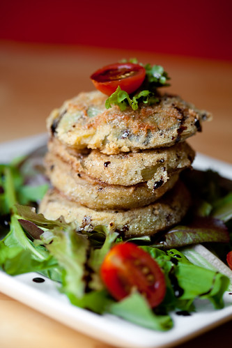 Fried Green Tomatoes | by teenytinyturkey