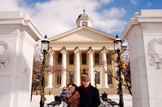 Family at the Bellefonte Courthouse | by matthew_culbertson