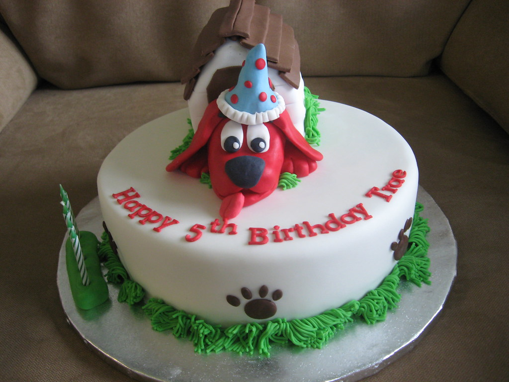 Clifford Cake By Janes Cakes
